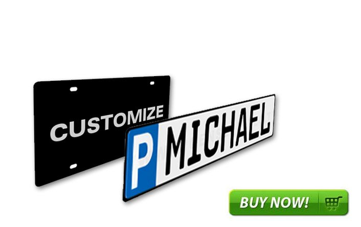 Custom/Fun License Plates