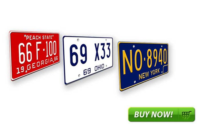 USA / State license plates