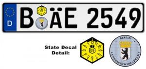"""berlin license plates"""