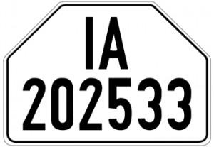 """german license plates"""