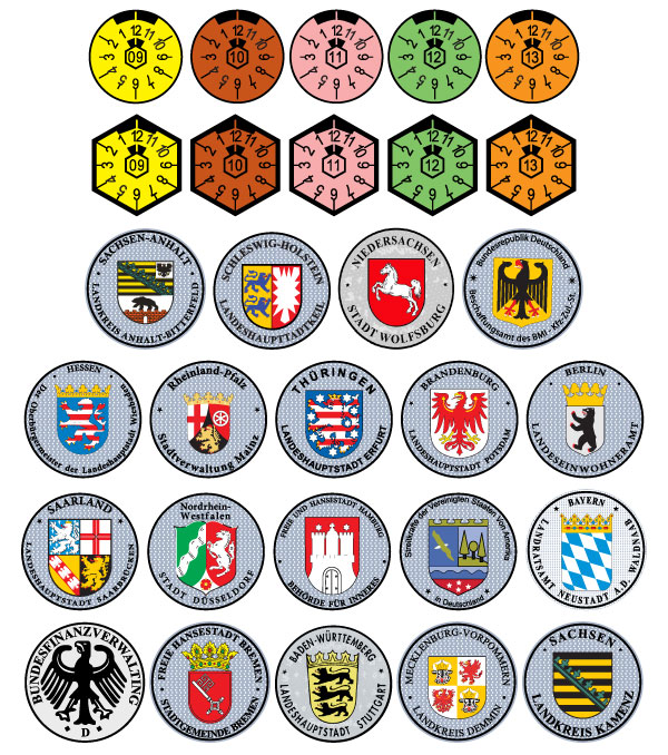 German license platesLicense Plates History