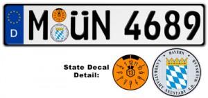"""""""munich license plates"""""""