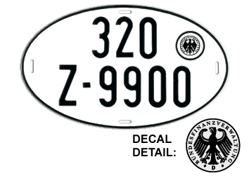 German license platesLicense Plates History