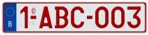 """""""belgium license plates"""""""