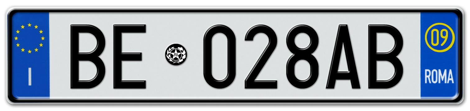 European Car Number Plates