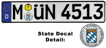 German License Platelicense Plates History