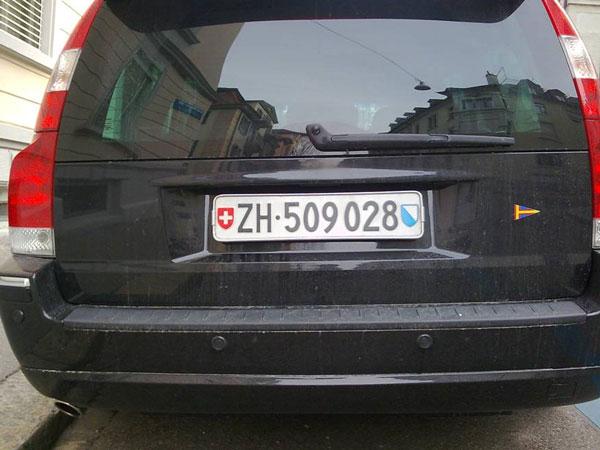 """""""zurich license plates"""""""