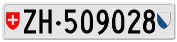 """""""license plates of Zurich"""""""