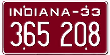 Replica License Plates for Movies (800) 491-2068