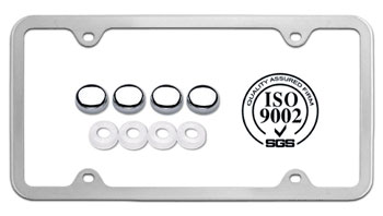 eco friendly license plate frames