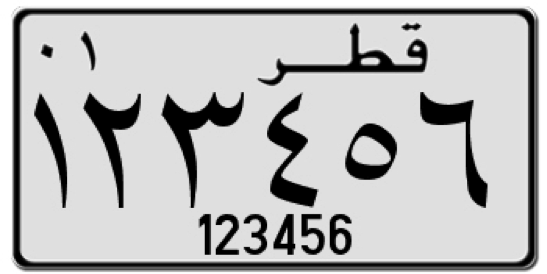 license plates of the gulf cooperation council stateslicense plates history