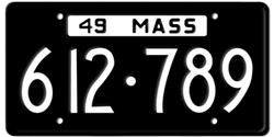 Massachusetts License Plates has the honor of being the first state in the union to issue license plates in 1903.