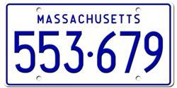 Massachusetts License Plates