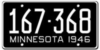 Minnesota License Plates