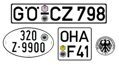 Schelswig/Holstein License Plates