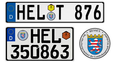 Hessen License Plates