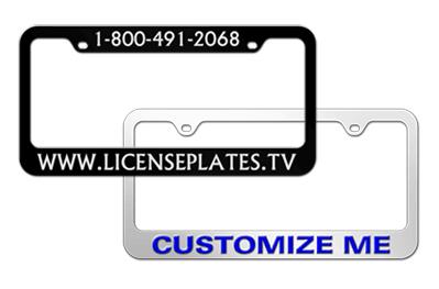license plates frames