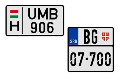 Motorcycle Custom License Plates