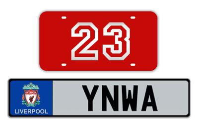 Sport/Hobby Custom License Plates