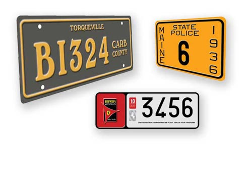 Special Request license plates