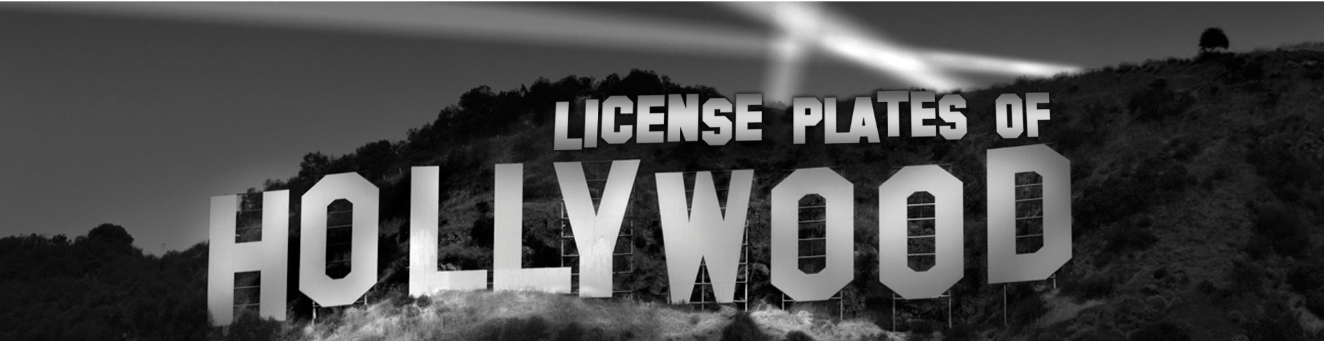 Licenseplates of Hollywood
